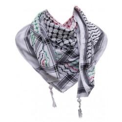 Gekleurde Kufiya (palestina kleuren)