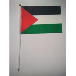 Mini Palestijnse vlag (Palestina) 14x21cm