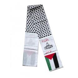 Al Aqsa Sjawl banner (MISDRUK)